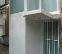 ascensor exterior portal de aluminio