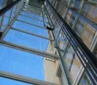 ascensor exterior columna en crista