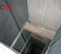 ascensor exterior interior  columna