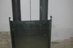 proteccion bajantes acero galvanizado