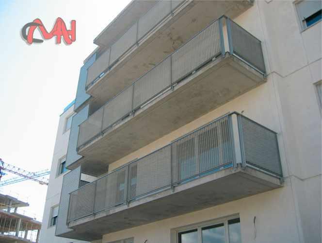 Barandillas acero balcones acero cristal cerrajerias en madrid - Barandillas madrid ...