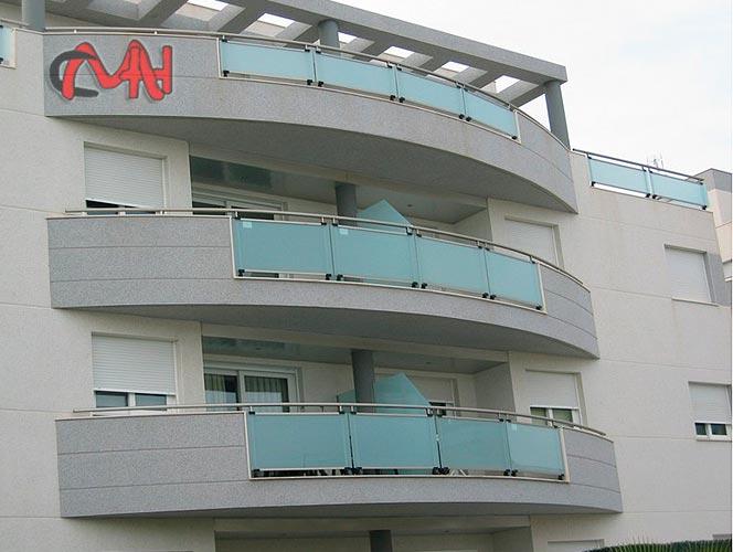 Balcones aluminio edificio