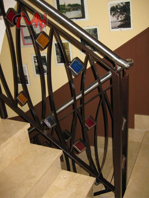 Barandillas para escaleras de interior great imagejpg - Barandillas de forja para escaleras de interior ...