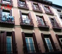 balcones edificio de acero forjado