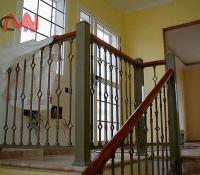 barandillas acero forjado escalera