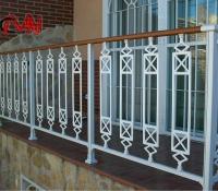 barandillas acero forjado en terraza
