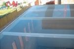 lucernario aluminio acristalado