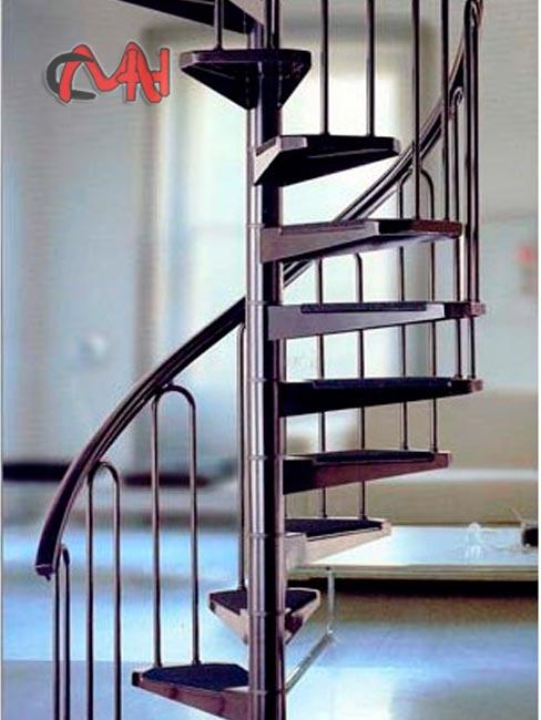 Escaleras caracol de acero galvanizado cerrajer as en madrid - Escalera de caracol prefabricada ...
