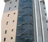 fachada de estructuras metálicas