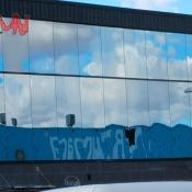 muro cortina en fachada