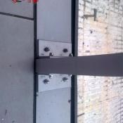 muro cortina detalle