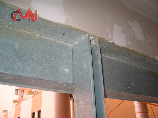 Premarcos acero galvanizado cerrajer as mart nez e hijos s a - Puerta de acero galvanizado ...