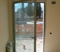 Puertas aluminio practicable