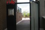 Puertas aluminio portal