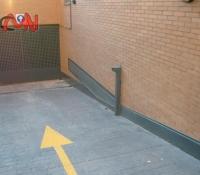 Puertas automáticas cacero galvanizado