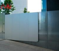 Puertas automáticas abatible