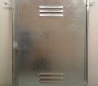 Puertas contadores con ventilación