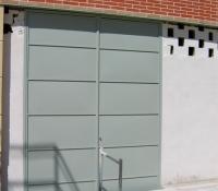 Puertas contadores de acero
