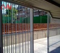 Reja seguridad recinto edificio