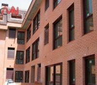 Rejillas ventilación en edificio