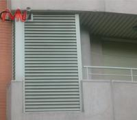 Rejillas ventilación en terrazas