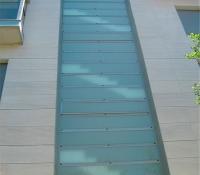 cerramientos terrazas escalera