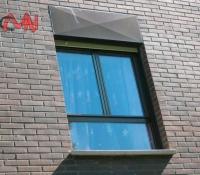 ventanas practicables en fachada
