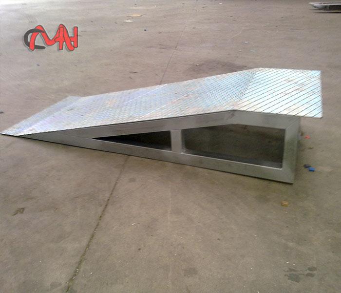 Rampa en acero galvanizado