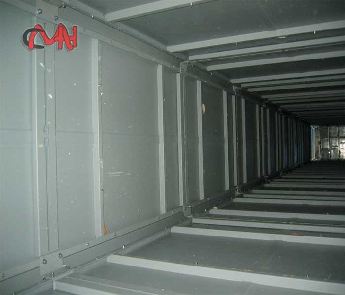 Interior de la columna