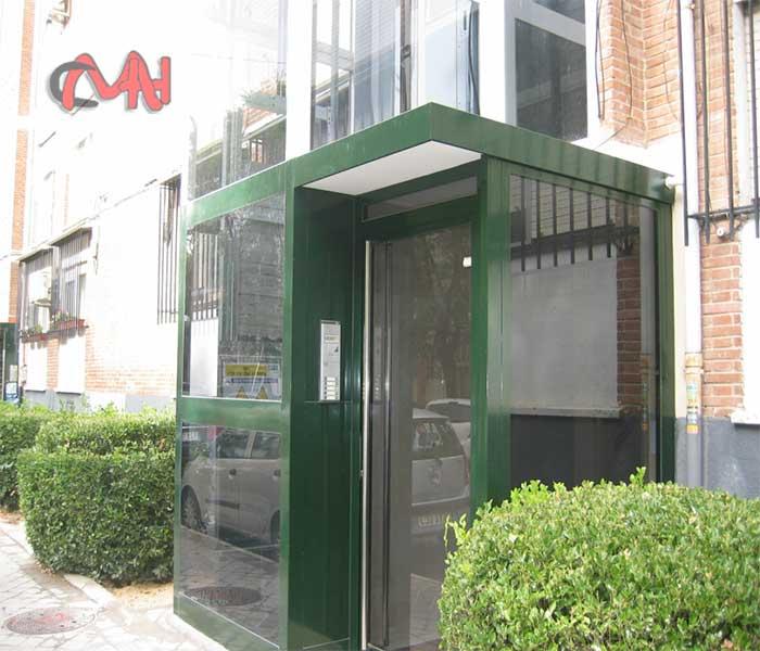 Portal del ascensor