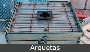 arquetas, construcciones metálicas