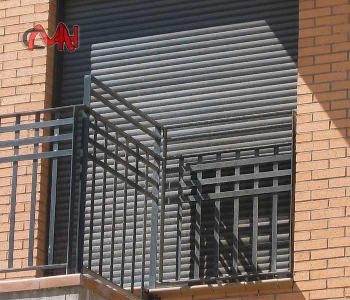 Balcón de acero
