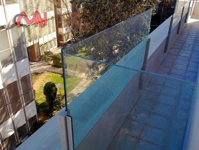 balcon cero cristal