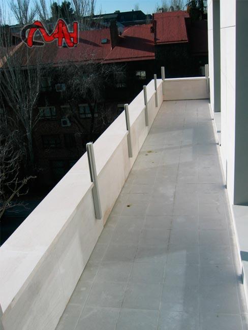 balcon acero cristal
