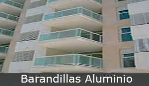 Barandillas aluminio