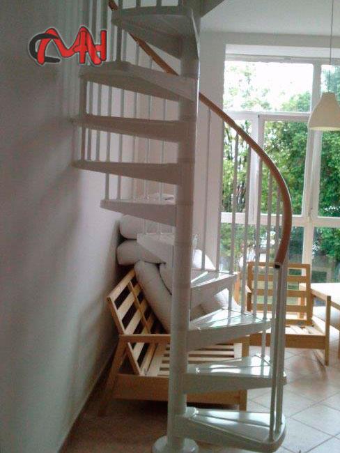 Escaleras caracol de acero galvanizado cerrajer as en madrid - Escaleras de caracol economicas ...