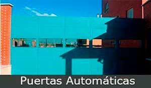 puertas-automáticas, puertas metálicas