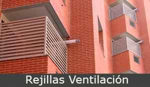 rejas metálicas, rejillas ventilación