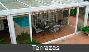 Cerramientos metálicos,terrazas