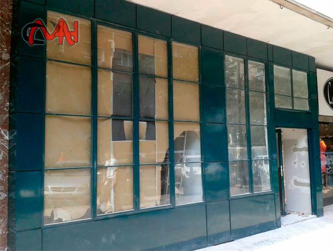 Revestimiento fachada cerrajer as martinez e hijos s a - Revestimiento de fachadas exteriores ...