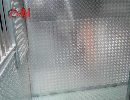 Chapa palilleria aluminio