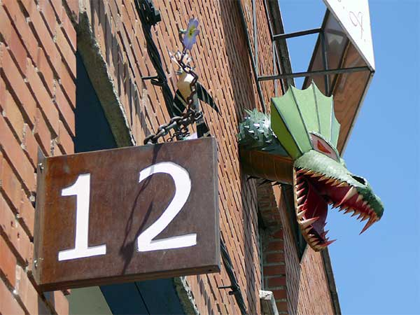 Dragon fachada cerrajerías martínez e hijos