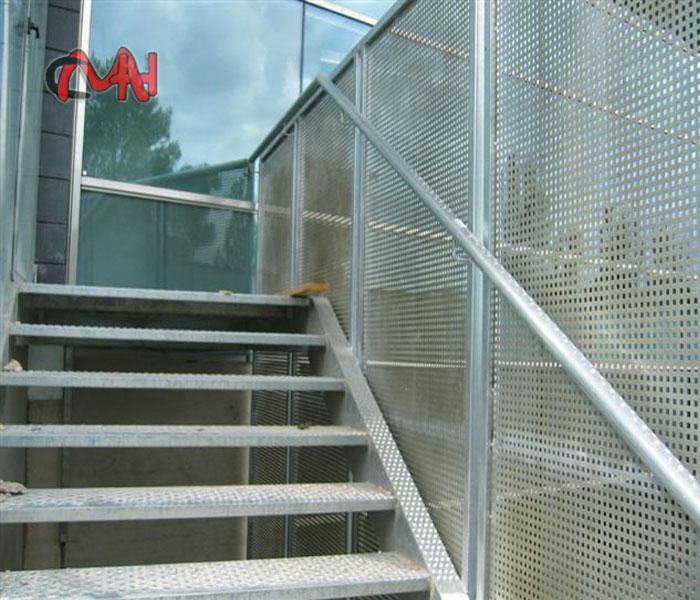 Escalera exterior acero galvanizado