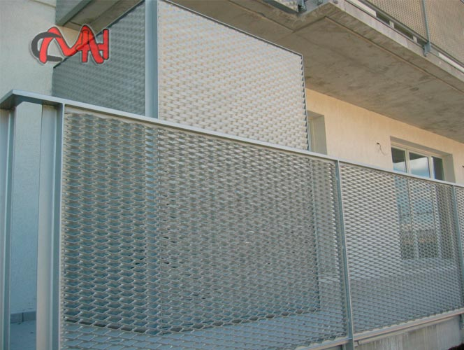 barandillas acero, balcón de chapa ambasita