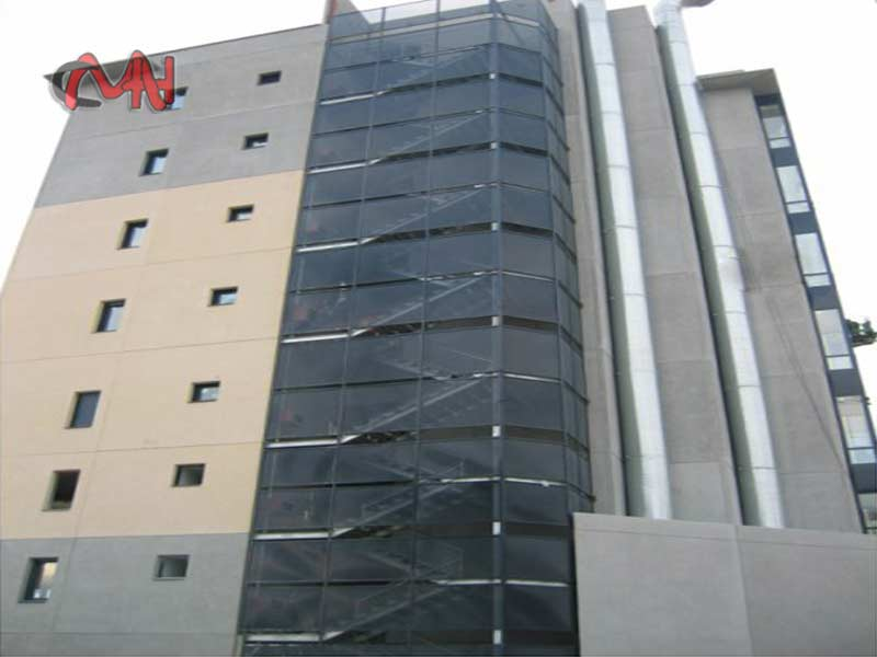 Estructuras-metálicas en edificio