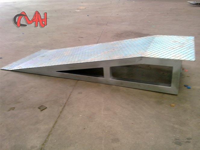 rampa acero galvanizado