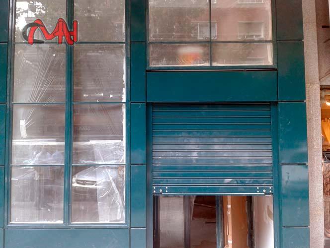 Revestimiento fachada cierre