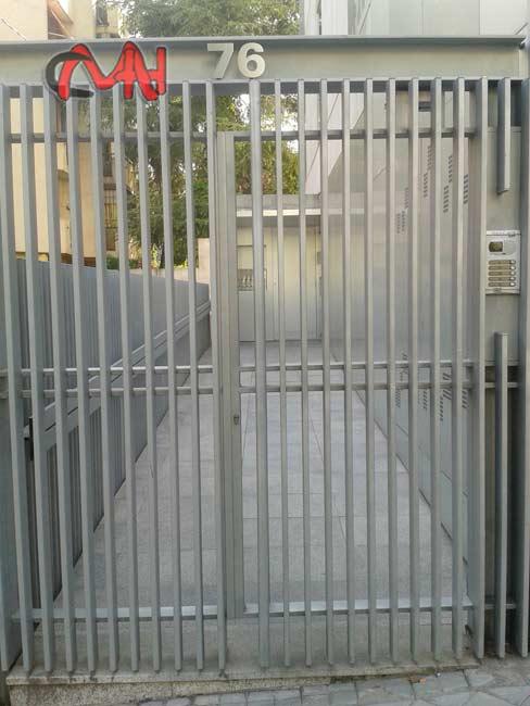 puerta motorizada