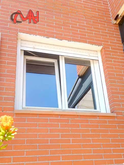ventana dos hojas oscilobatiente